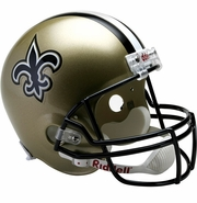 Full Size Replica Riddell Football Helmet - New Orleans Saints