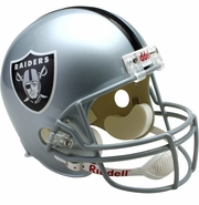 Full Size Replica Riddell Football Helmet - Oakland Raiders