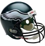 Full Size Replica Riddell Football Helmet - Philadelphia Eagles