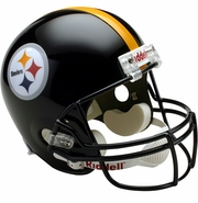Full Size Replica Riddell Football Helmet - Pittsburgh Steelers