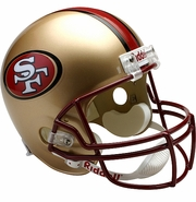 Full Size Replica Riddell Football Helmet - San Francisco 49ers