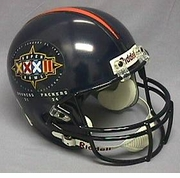 Full Size Replica Riddell Football Helmet - Super Bowl XXXII Helmet