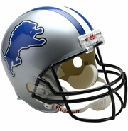 Full Size Replica Riddell Football Helmets - Detroit Lions