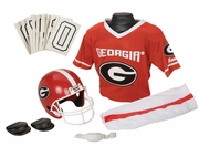 Georgia Bulldogs <br> NCAA Youth Football Uniform & Helmet