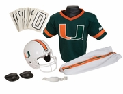 Miami Hurricanes <br>NCAA Youth Football Uniform