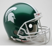 Michigan St - NCAA College Authentic Football Helmet