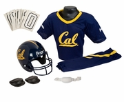 NCAA Youth Football Helmet & Uniform Set <br>California Golden Bears