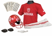 NCAA Youth Football Helmet & Uniform Set <br>Indiana Hoosiers