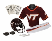 NCAA Youth Football Uniform and Helmet Set<br> Virginia Tech Hokies