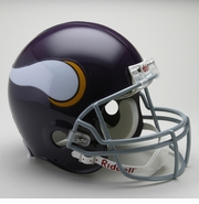 NFL Authentic Football Helmet - Minnesota Vikings 1961-79
