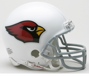NFL Football Helmet -  Arizona Cardinals Mini Replica