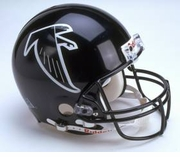 NFL Football Helmet - Atlanta Falcons Authentic Throwback 2002