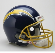 NFL Football Helmet Authentic - Chargers 1974 - 86