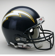 NFL Football Helmet Authentic - Chargers 1988-06