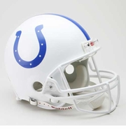 NFL Football Helmet Authentic - Colts 1977-94