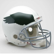 NFL Football Helmet Authentic - Eagles 1969 - 73