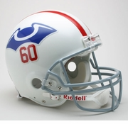NFL Football Helmet - Authentic Throwback - Patriots 1960