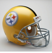 NFL Football Helmet - Authentic Throwback - Steelers 1962