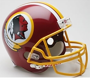 NFL Football Helmet - Authentic Throwback - Washington Redskins 1982