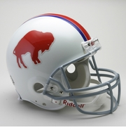 NFL Football Helmet - Buffalo Bills Authentic Throwback 1965-73