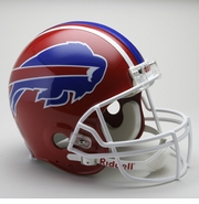 NFL Football Helmet - Buffalo Bills Authentic Throwback 1987 - 2001