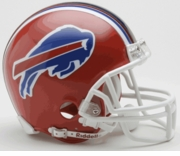 NFL Football Helmet -  Buffalo Bills Mini Replica