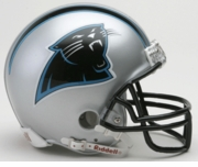 NFL Football Helmet -  Carolina Panthers Mini Replica