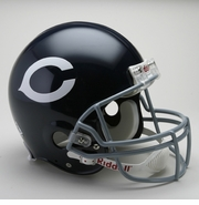 NFL Football Helmet - Chicago Bears Authentic Throwback 1962-73