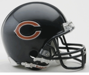 NFL Football Helmet -  Chicago Bears Mini Replica
