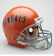 NFL Football Helmet - Cincinnati Bengals Authentic Throwback 1968-79