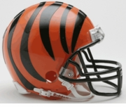 NFL Football Helmet -  Cincinnati Bengals Mini Replica