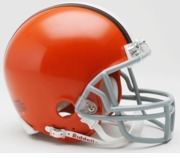 NFL Football Helmet -  Cleveland Browns Mini Replica