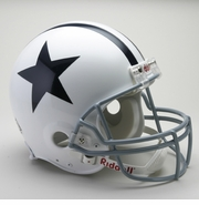 NFL Football Helmet - Dallas Cowboys Authentic Throwback 1960-63