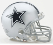 NFL Football Helmet -  Dallas Cowboys Mini Replica
