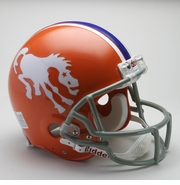 NFL Football Helmet - Denver Broncos Authentic Throwback 1966