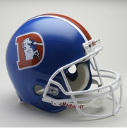 NFL Football Helmet - Denver Broncos Authentic Throwback 1975-96
