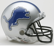 NFL Football Helmet -  Detroit Lions Mini Replica