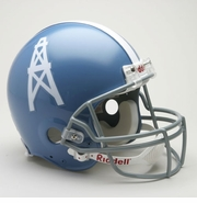 NFL Football Helmet - Houston Oilers Authentic Throwback  1960-63