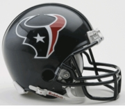 NFL Football Helmet -  Houston Texans Mini Replica