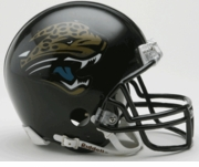 NFL Football Helmet -  Jacksonville Jaguars Mini Replica