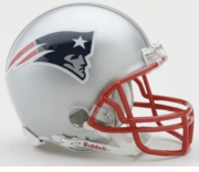 NFL Football Helmet -  New England Patriots Mini Replica