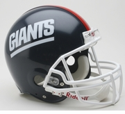 NFL Football Helmet - New York Giants Authentic Throwback 1981-99