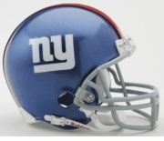 NFL Football Helmet -  New York Giants Mini Replica