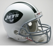 NFL Football Helmet - New York Jets Authentic Throwback 1965-77