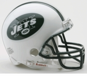 NFL Football Helmet -  New York Jets Mini Replica