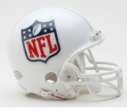 NFL Football Helmet -  NFL Logo Mini Replica
