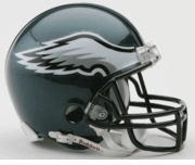 NFL Football Helmet -  Philadelphia Eagles Mini Replica