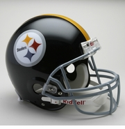 NFL Football Helmet - Pittsburgh Steelers Authentic Throwback 1963-76