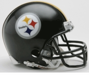 NFL Football Helmet -  Pittsburgh Steelers Mini Replica