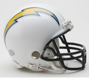 NFL Football Helmet -  San Diego Chargers Mini Replica